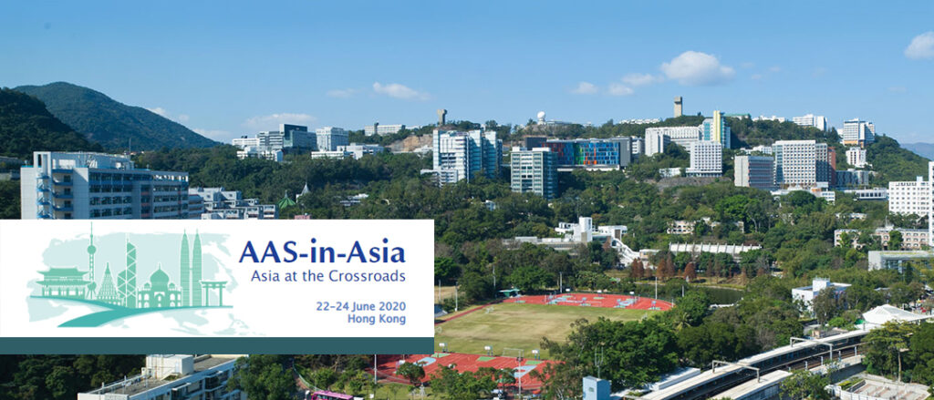 Call for paper and panel proposals, AAS-in-Asia Annual Meeting 2020